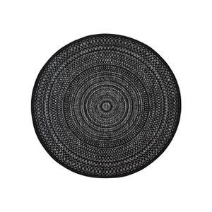 tapis rond 160 cm achat vente tapis rond 160 cm pas cher soldes d s le 10 janvier cdiscount. Black Bedroom Furniture Sets. Home Design Ideas