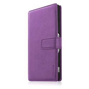 HOUSSE - ÉTUI Etui portefeuille Itskins Galaxy S5 violet