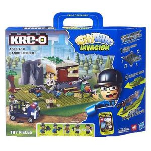 PARTITION Kre-o City Ville Invasion Dr.Mayhem Hideout with S