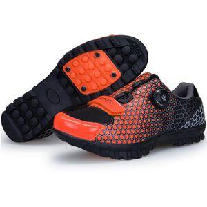 the best attitude 180c3 42298 CHAUSSURES DE VÉLO XBootsMalone® chaussure vtt enfant - Orange-Noir(P