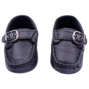 cbbf00d8dbb74 MOCASSIN Fashion Tout Petit Chaussure Garçon Bébé noir 6-12