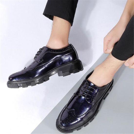 aff0e9ebbbc740 Mode Hommes Chaussures Shoes Moccasins Moccasin Qualité Haut Confortable  Cuir En Rq57wzx