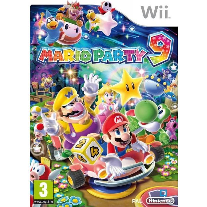 JEUX WII MARIO PARTY 9 / Jeu console Wii