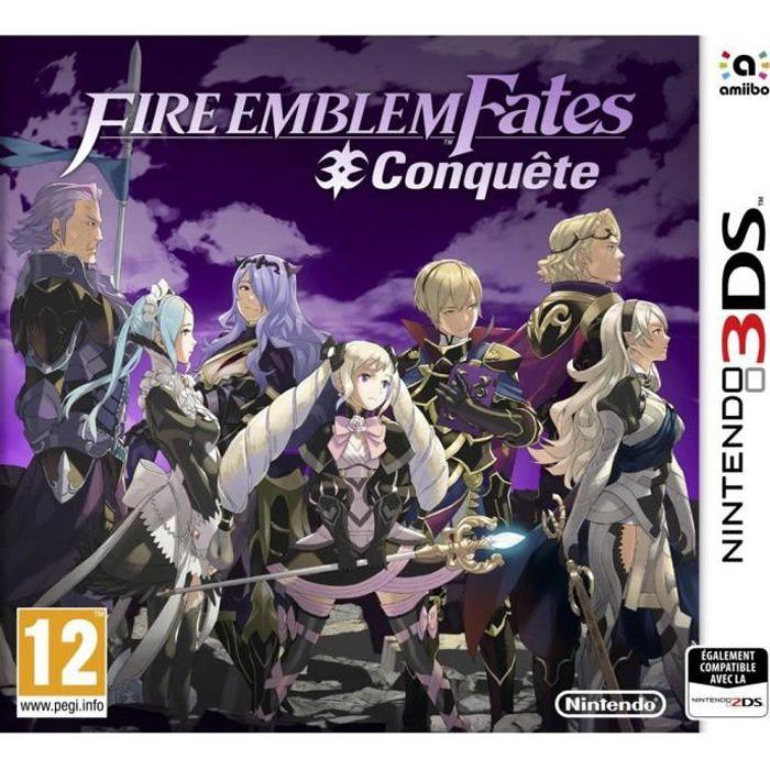 Fire Emblem Fates: Conquête Jeu 3DS