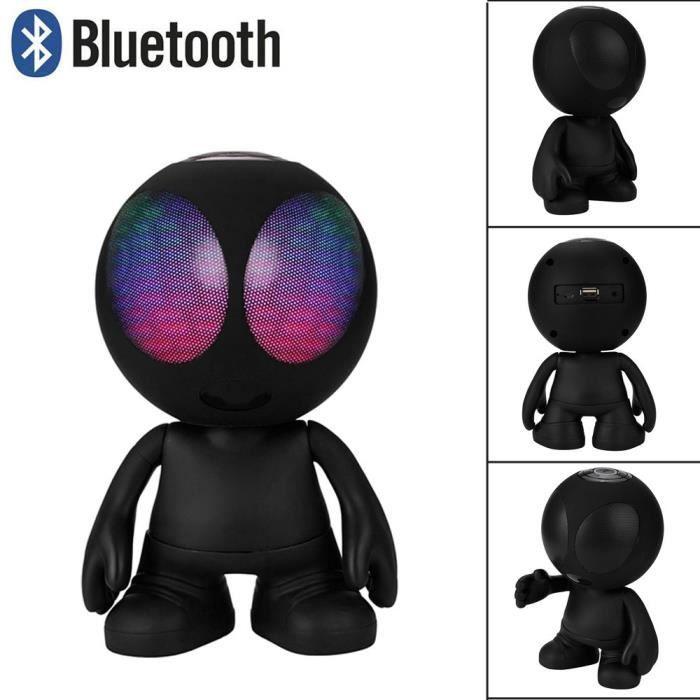 Haut-parleur Portable Bluetooth Super Bass Stéréo Sans Fil Bk *w772
