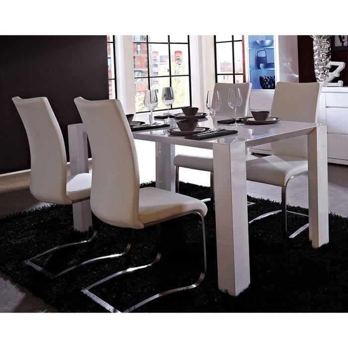 Table Sejour Blanc Laque Fabulous Table Sjour Glove Table