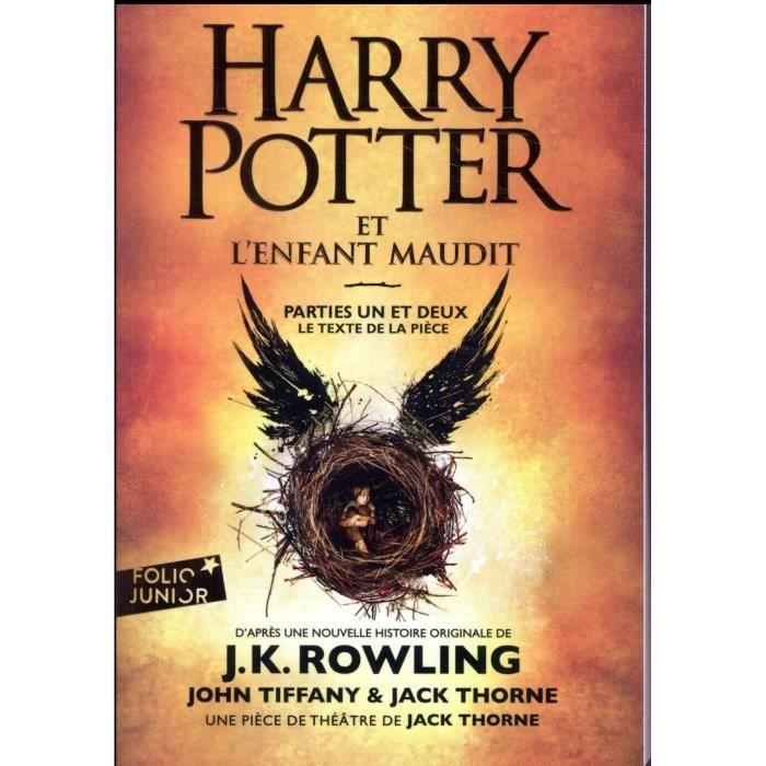 Livre 9 -12 ANS Livre - Harry Potter et l'enfant maudit ; parties