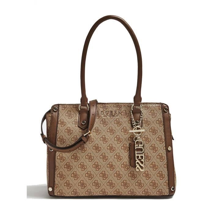 2ef6e64ad15 Guess - Sac cabas Florence (hwsg69 91090) brown taille - Achat ...