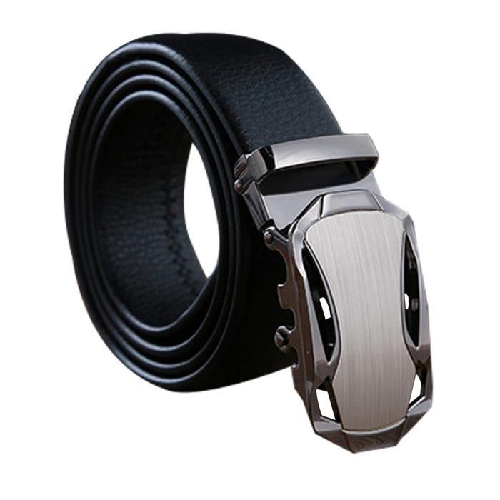 f9f738cbf02f Ceinture en cuir homme Boucle automatique - Achat   Vente ceinture ...