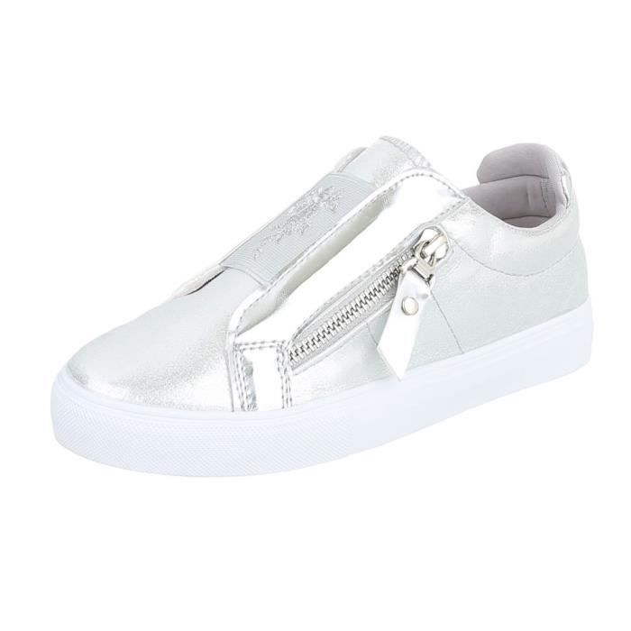 Chaussures femme chaussures sportSneakers argent 41
