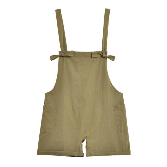 femme Pants Jarretelle Shorts Solide Couleur Brief design taille plus  Casual Shorts a9179a48e97