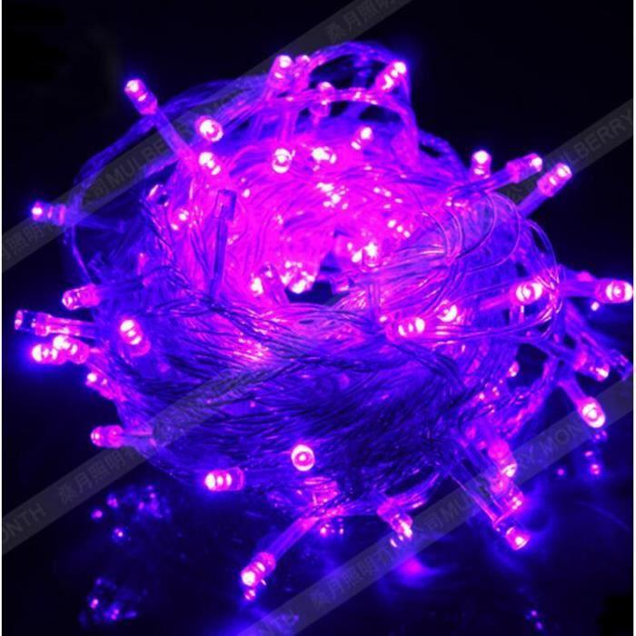 Chaine Lampe Led Pour Decoration Noel Nouvel An Longueur 10m Couleur