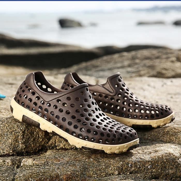 Étudiants coréens simple résistance à l'usure Sandales Chaussures pour hommes