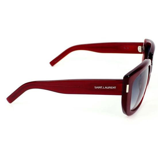 1438d02529d1e6 Lunettes de soleil Yves Saint Laurent YSL SL 15… Rouge - Achat   Vente  lunettes de soleil Femme - Soldes  dès le 9 janvier ! Cdiscount
