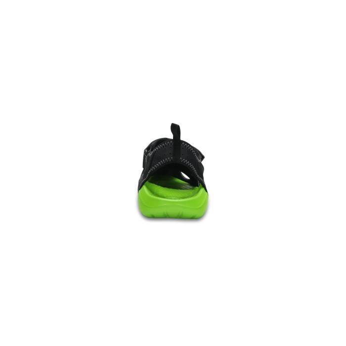 SWIFTWATER noir-vert - Sandales homme CROCSNOIR-VERT