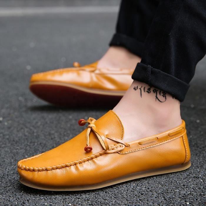 Chaussures Homme Bateau en daim Chaussures de ville Chaussures plates