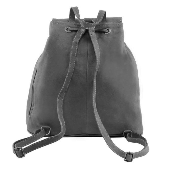 Tuscany Leather - Seoul - Sac À Dos En Cuir Grand Modèle - Rouge Foncé VI0Ql