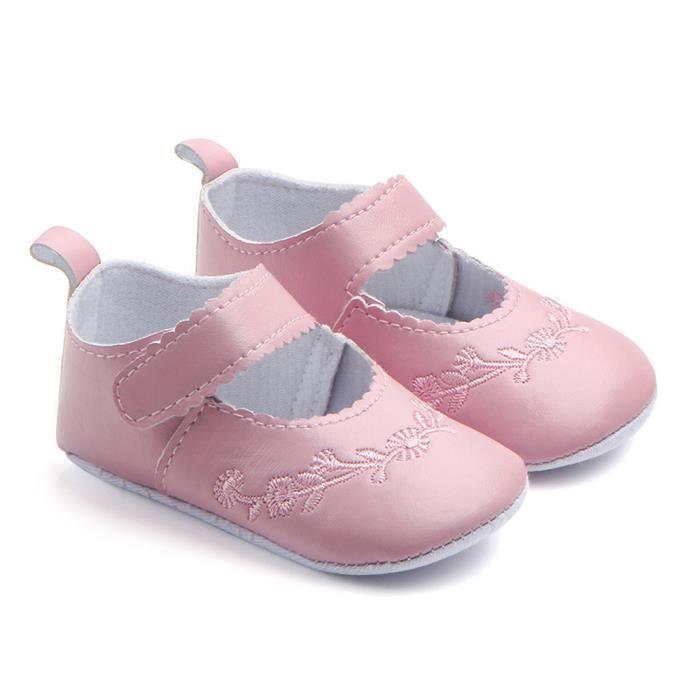 Chaussures Filles Espadrille Simples Bébé Nouveau Sneaker Antidérapage Mode Stitchwork rose né ZqqBI10F