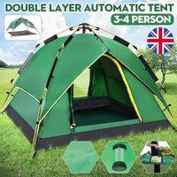 TENTE DE CAMPING Tente De Camping Familiale 4 Personne Imperméable