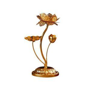 BOUGEOIR - CHANDELIER Bouddha de 7 pouces pour chandelier en métal Chang