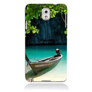 BARQUE DE PÊCHE Coque Galaxy Note 4 - Barque Eau Douce