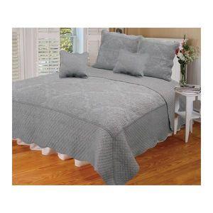 couvre lit boutis 260x260 achat vente couvre lit boutis 260x260 pas cher cdiscount. Black Bedroom Furniture Sets. Home Design Ideas
