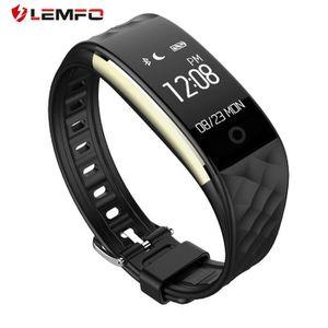 VITRE MONTRE CONNECTÉE LEMFO S2 0,96 pouces Écran OLED Bracelet de bracel