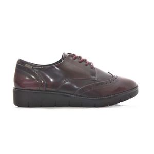 BALLERINE Ballerine MUSTANG CHAUSSURES BORDEAUX SYNTHÉTIQUE
