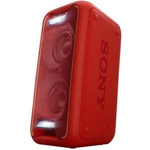 ENCEINTES Sony GTK-XB5 - Haut-parleur - sans fil - rouge