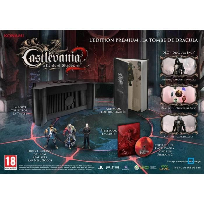 JEUX XBOX 360 Castlevania Lords Of Shadow 2 Collector XBOX 360