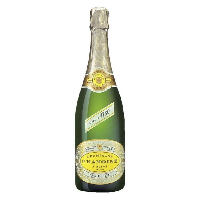Champagne chanoine tradition brut 75 cl
