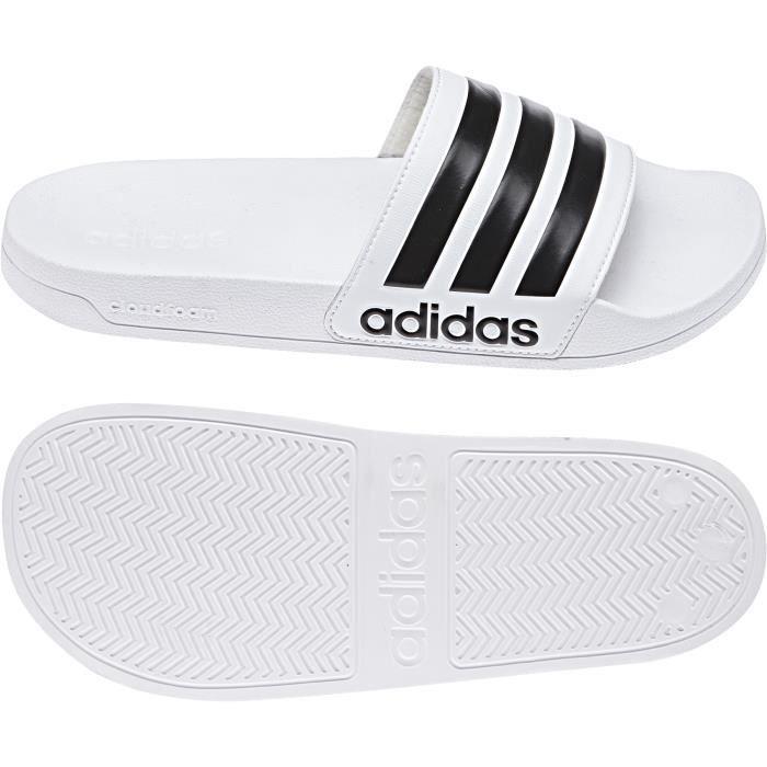 Adidas Sandales Adilette - Blanc zXK77GYR