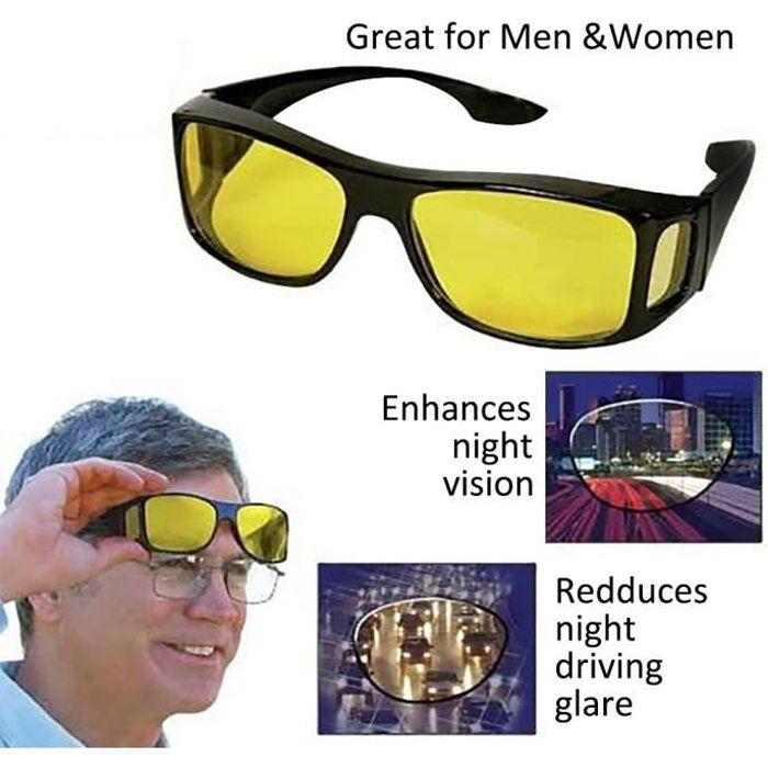 Sur lunette conduite de nuit - Achat   Vente pas cher 2269113148c7