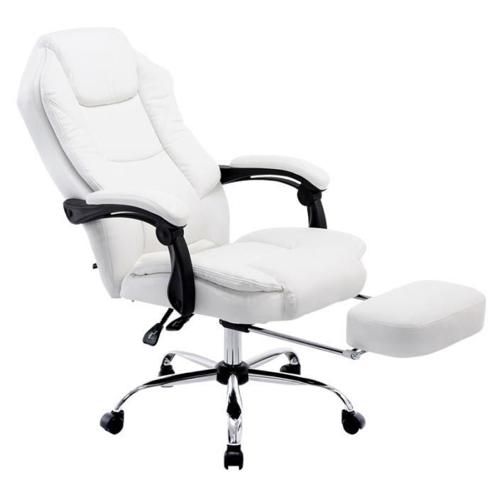 fauteuil de bureau avec repose pieds achat vente fauteuil de bureau avec repose pieds pas. Black Bedroom Furniture Sets. Home Design Ideas