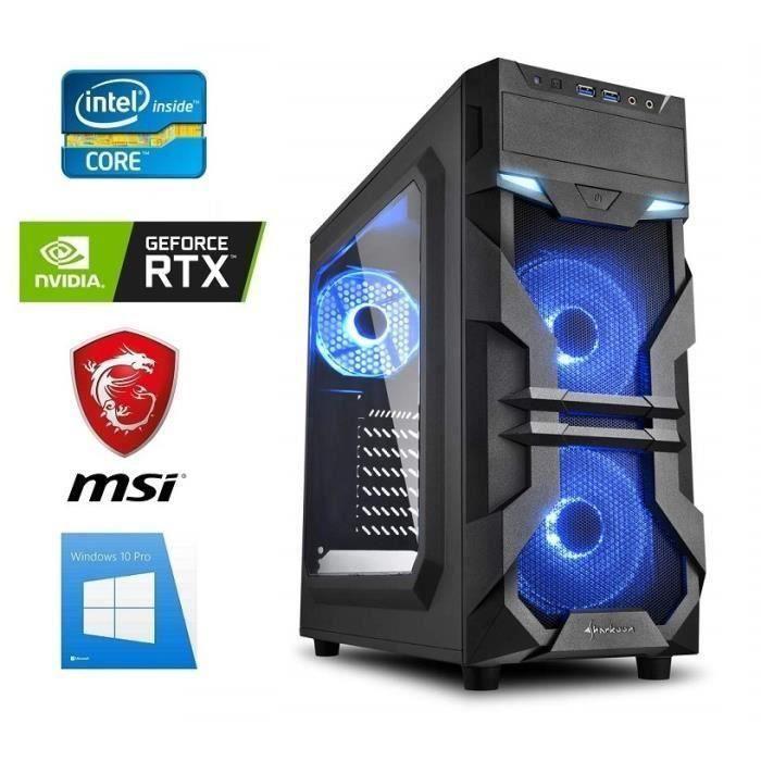 PC Gamer I5-9400F - GeForce RTX 2060 6GO - 32GO RAM - SSD 480GO + DD 3000GO  - WiFi - Cooler MasterBox Lite 5 - Windows 10