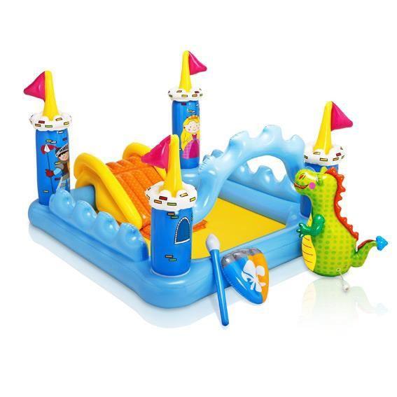 toboggan gonflable achat vente jeux et jouets pas chers. Black Bedroom Furniture Sets. Home Design Ideas