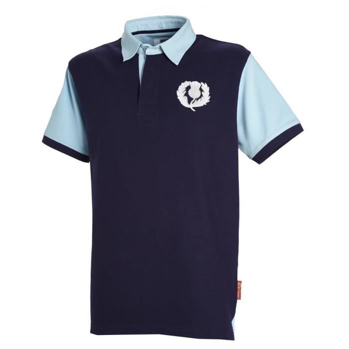 Angleterre 1871Polo de rugby pour homme, bleu marine, grand