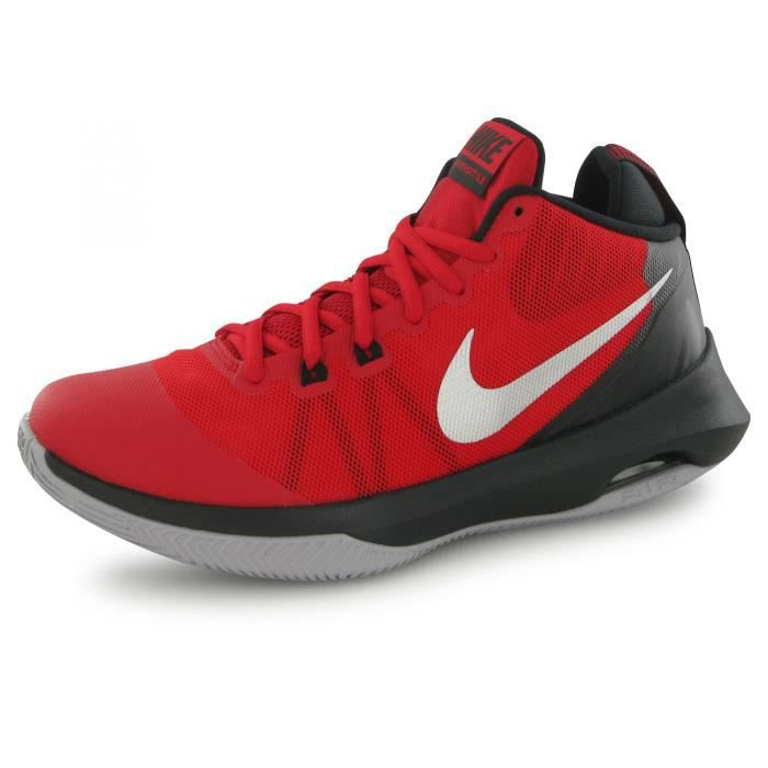 outlet store 7b159 c9c20 Nike Air Versitile rouge, chaussures de basketball homme