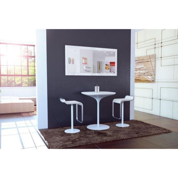 miroir laque blanc achat vente pas cher. Black Bedroom Furniture Sets. Home Design Ideas
