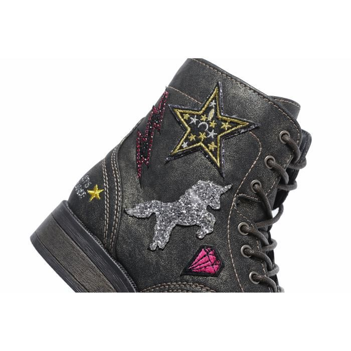 Girl Chaussures Tlkvp Femmes top hop Kid Mode grand 40 Lacets Sneaker Anti Casual High Hip drapant Taille YOw5qnx6TO