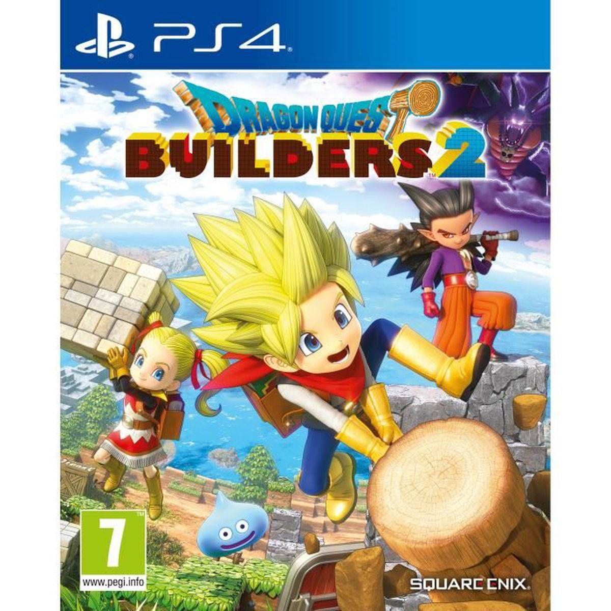 JEU PS4 Dragon Quest Builders 2 Jeu PS4