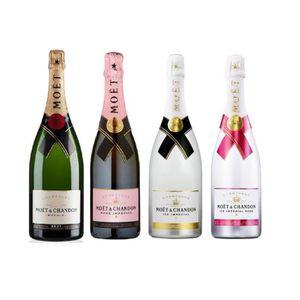 CHAMPAGNE Lot découverte 4 Champagnes Moët & Chandon