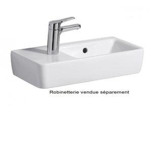 LAVE-MAIN Lave-mains Prima Style compact - Cuve à droite ...