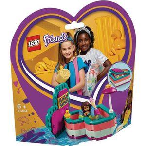 ASSEMBLAGE CONSTRUCTION LEGO® Friends 41384 La boîte cœur d'été d'Andréa