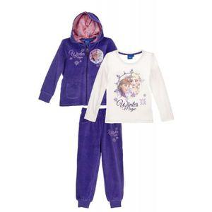 T-SHIRT Jogging fille la Reine des neiges avec tee shirt e