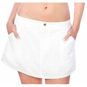 JUPE Femmes Sunburst Uv Jupe-blanc, X-large 3UV1UC Tail