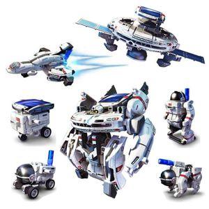 VOITURE À CONSTRUIRE Kits Robotiques De Flotte De 7 Dans 1 Diy Solar Sp