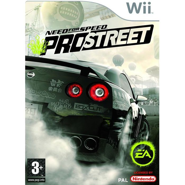 Need For Speed Prostreet Jeu Console Nintendo Wi