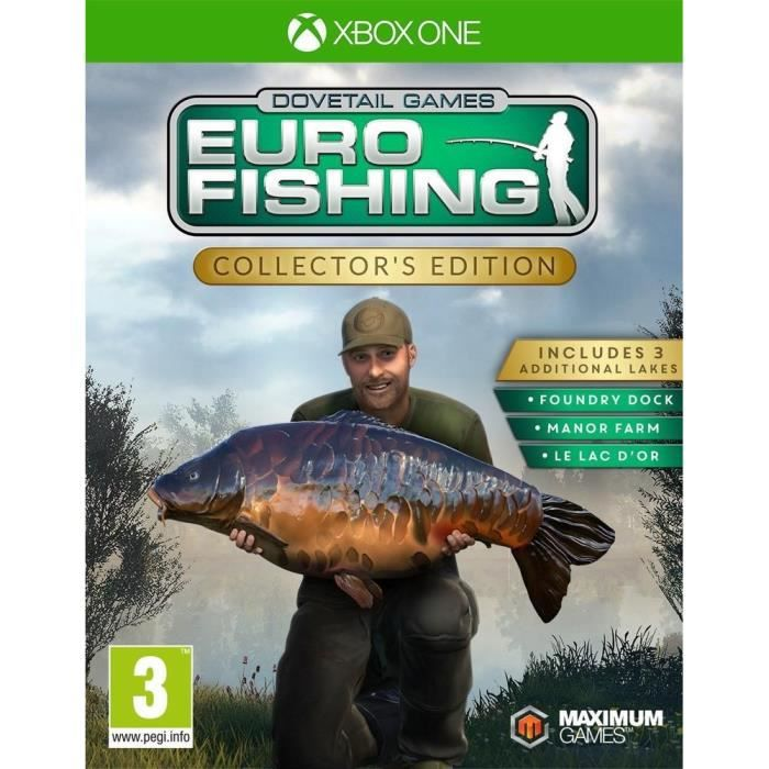 Euro Fishing: Collector's edition Jeu Xbox One