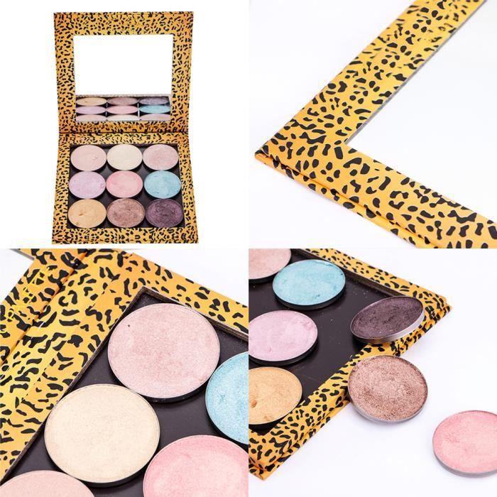 PALETTE DE MAQUILLAGE  Palette maquillage palette magnétique vide  motif